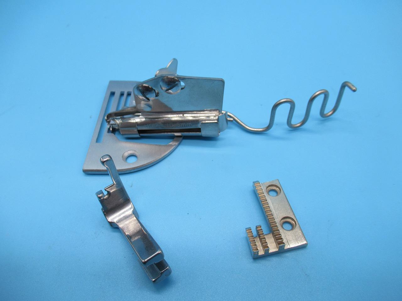 新品 HASHIMA HAK2 10-5mm 大人気 各メーカー1本針本縫いミシンに取り付けてお使いいただけます テープ幅10mm 仕上がり幅5mmの2つ巻きバインダーです 贈答品