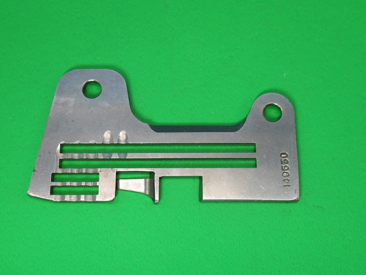 爆買いセール 新品 まとめ買い特価 純正品 日本製 パーツNO:149530-001 針板 ブラザー