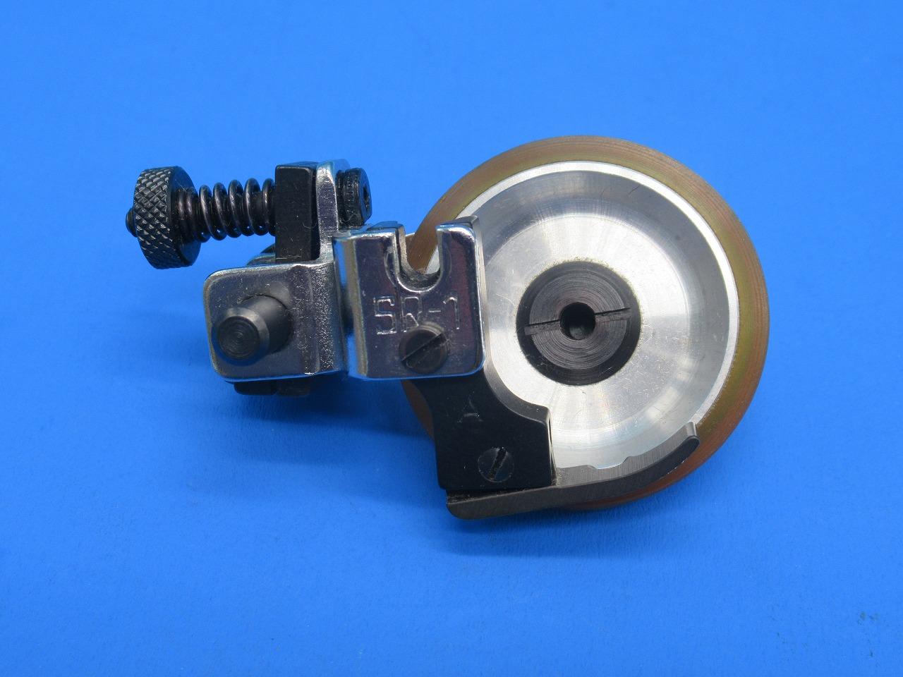 本物 一般本縫いミシン用 新品 NEW ARRIVAL 嶋田機器工業株式会社 SR-1 型式 S.M.K.のサイドローラー押え