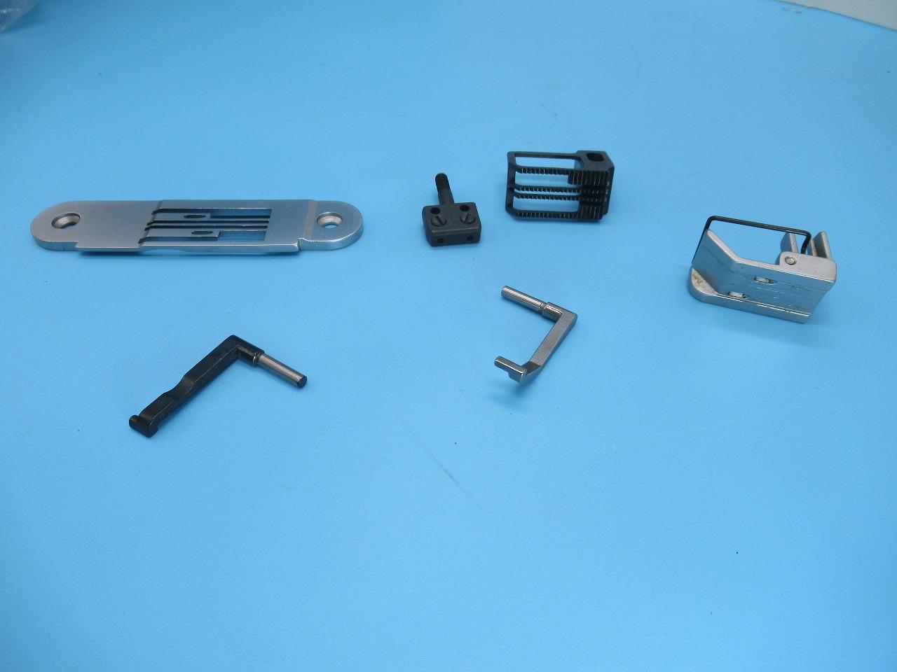 激安直営店 【新品【新品】JUKI】JUKI ジューキ 平2本針2重環縫い MH-380型用 7.9mm (5/16