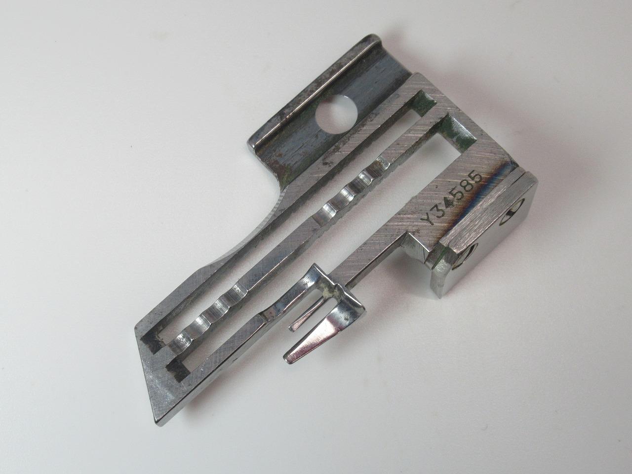 大好評です 中古 ヤマト 新商品 新型 針板 パーツ番号:Y34585です