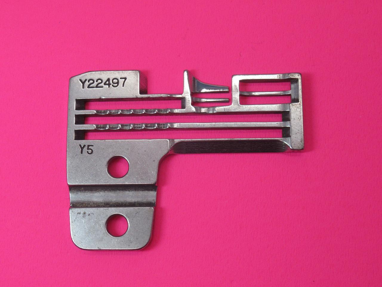 中古 ヤマトZ5020-Y5 MT2型用 パーツ番号:Y22497です 針板 売り出し 低価格化