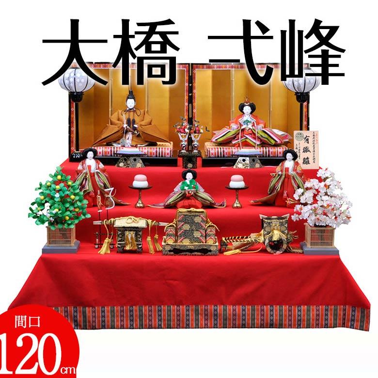 七番 大橋 弌峰 有職 黄櫨染 猪山頭 三段飾