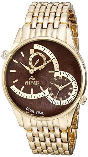 AS8141BR ゴールド 【並行輸入品】 男性用 ウォッチ 送料無料 オーガストシュタイナ August メンズ Steiner 腕時計