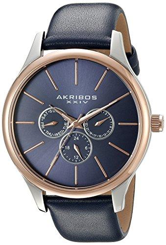 アクリボス Akribos XXIV 男性用 腕時計 メンズ ウォッチ ブルー AK870BU 送料無料 【並行輸入品】