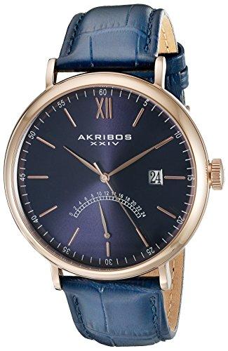 アクリボス Akribos XXIV 男性用 腕時計 メンズ ウォッチ ブルー AK845RGBU 送料無料 【並行輸入品】