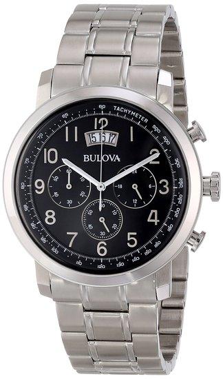 ブローバ Bulova 男性用 腕時計 メンズ ウォッチ ブラック 96B202 送料無料 【並行輸入品】