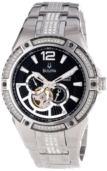 ブローバ Bulova 男性用 腕時計 メンズ ウォッチ ブラック 98A128 送料無料 【並行輸入品】