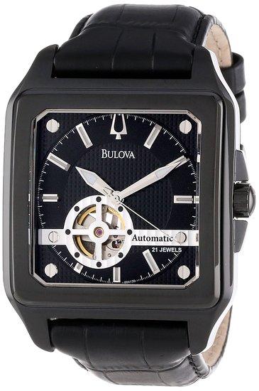 ブローバ Bulova 男性用 腕時計 メンズ ウォッチ ブラック 98A130 送料無料 【並行輸入品】