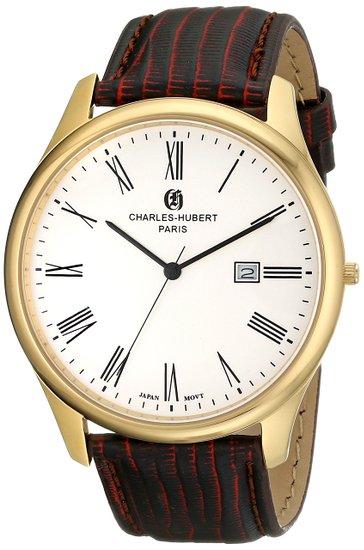 チャールズヒューバート Charles-Hubert, Paris 男性用 腕時計 メンズウォッチ シルバー 3960-G 送料無料 【並行輸入品】