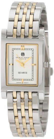 チャールズヒューバート Charles-Hubert, Paris 男性用 腕時計 メンズウォッチ ホワイト 3799 送料無料 【並行輸入品】