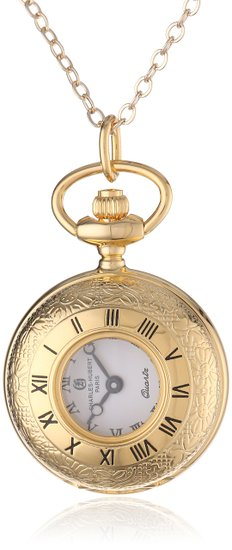 チャールズヒューバート Charles-Hubert Paris 懐中時計 セール特価品 ディスカウント ペンダントウォッチ ウォッチ 送料無料 6764 パリ ペンダントウォッチホワイト 時計 並行輸入品
