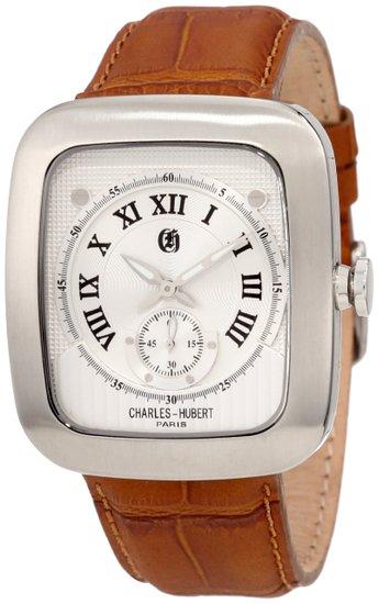 チャールズヒューバート Charles-Hubert, Paris 男性用 腕時計 メンズウォッチ シルバー 3774-W 送料無料 【並行輸入品】