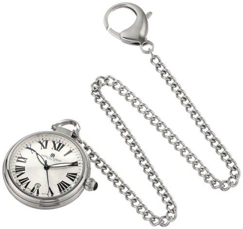 チャールズヒューバート Charles-Hubert, Paris 懐中時計 ポケット ウォッチ ホワイト 3758 送料無料 【並行輸入品】