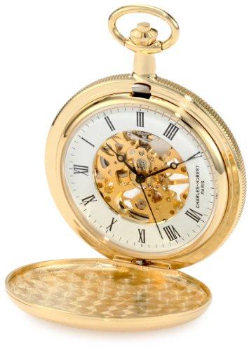 チャールズヒューバート Charles-Hubert Paris 懐中時計 ポケットウォッチ ウォッチ ホワイト 並行輸入品 売り出し パリ 時計 3909-G ポケット 送料無料 激安 お買い得 キ゛フト