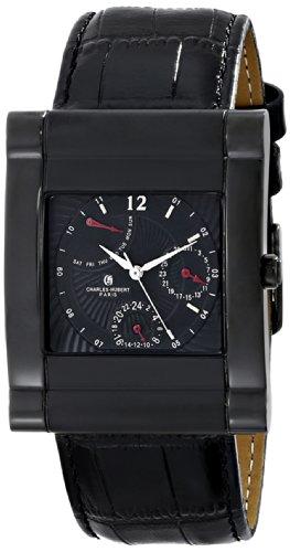 チャールズヒューバート Charles-Hubert, Paris 男性用 腕時計 メンズ ウォッチ ブラック 3950-B 送料無料 【並行輸入品】