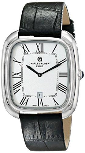 チャールズヒューバート Charles-Hubert, Paris 男性用 腕時計 メンズ ウォッチ シルバー 3963-W 送料無料 【並行輸入品】