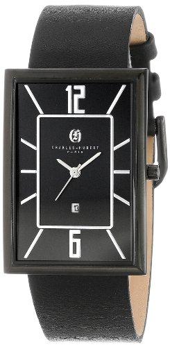 チャールズヒューバート Charles-Hubert, Paris 男性用 腕時計 メンズ ウォッチ ブラック 3943-B 送料無料 【並行輸入品】