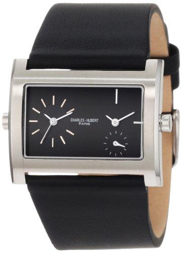 チャールズヒューバート Charles-Hubert, Paris 男性用 腕時計 メンズ ウォッチ ブラック 3592 送料無料 【並行輸入品】