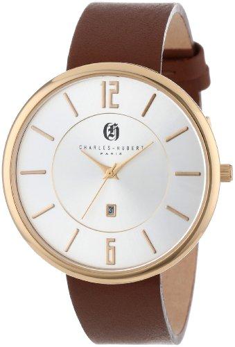 チャールズヒューバート Charles-Hubert, Paris 男性用 腕時計 メンズ ウォッチ シルバー 3944-G 送料無料 【並行輸入品】