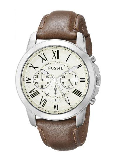 フォッシル ( Fossil ) 男性用 腕時計 メンズ ウォッチ ホワイト 【 FS4735 】 送料無料 【並行輸入品】