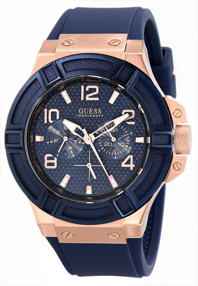 ゲス GUESS 男性用 腕時計 メンズ ウォッチ ブルー U0247G3 送料無料 【並行輸入品】