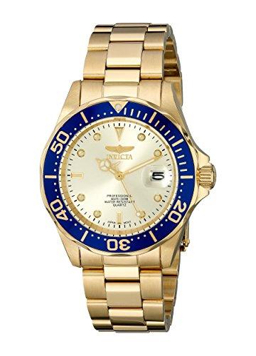 インビクタ Invicta インヴィクタ 男性用 腕時計 メンズ ウォッチ プロダイバーコレクション Pro Diver Collection ゴールド 14124 送料無料 【並行輸入品】