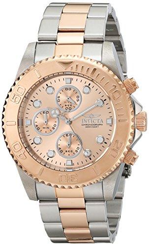 インビクタ Invicta インヴィクタ 男性用 腕時計 メンズ ウォッチ プロダイバーコレクション Pro Diver Collection クロノグラフ ピンク 1775 送料無料 【並行輸入品】