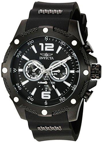 インビクタ Invicta インヴィクタ 男性用 腕時計 メンズ ウォッチ ブラック 19662 送料無料 【並行輸入品】