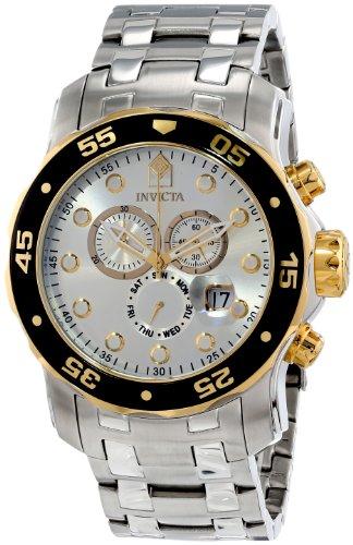インビクタ Invicta インヴィクタ 男性用 腕時計 メンズ ウォッチ プロダイバーコレクション Pro Diver Collection クロノグラフ シルバー 80040 送料無料 【並行輸入品】