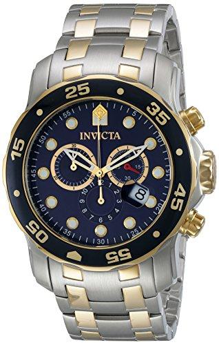 インビクタ Invicta インヴィクタ 男性用 腕時計 メンズ ウォッチ プロダイバーコレクション Pro Diver Collection クロノグラフ ブルー 0077 送料無料 【並行輸入品】