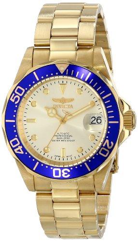 インビクタ Invicta インヴィクタ 男性用 腕時計 メンズ ウォッチ プロダイバーコレクション Pro Diver Collection ゴールド INVICTA-9743 送料無料 【並行輸入品】