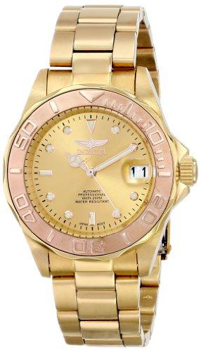 インビクタ Invicta インヴィクタ 男性用 腕時計 メンズ ウォッチ プロダイバーコレクション Pro Diver Collection ゴールド 13930 送料無料 【並行輸入品】