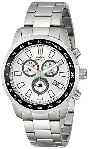インビクタ Invicta インヴィクタ 男性用 腕時計 メンズ ウォッチ クロノグラフ シルバー 1554 送料無料 【並行輸入品】