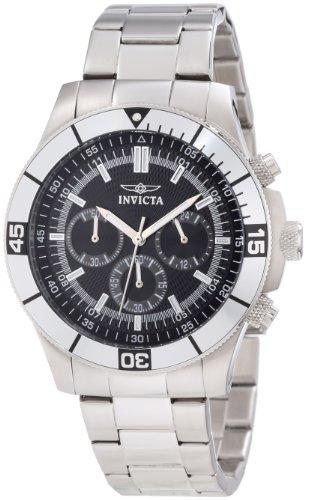 インビクタ Invicta インヴィクタ 男性用 腕時計 メンズ ウォッチ クロノグラフ ブラック 12839 送料無料 【並行輸入品】