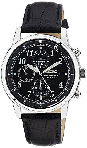 セイコー SEIKO 男性用 腕時計 メンズ ウォッチ クロノグラフ ブラック SNDC33 送料無料 【並行輸入品】