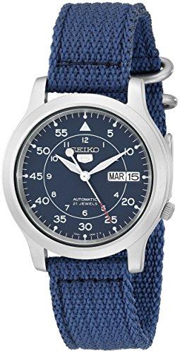 セイコー 5 SEIKO 男性用 腕時計 メンズ ウォッチ ブルー SNK807 送料無料 【並行輸入品】