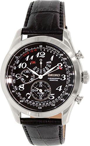 セイコー SEIKO 男性用 腕時計 メンズ ウォッチ クロノグラフ ブラック SPC133 送料無料 【並行輸入品】