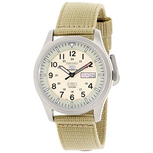 セイコー SEIKO 男性用 腕時計 メンズ ウォッチ ベージュ SNZG07J1 送料無料 【並行輸入品】