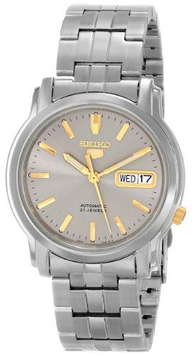 セイコー 5 SEIKO 男性用 腕時計 メンズ ウォッチ グレー SNKK67 送料無料 【並行輸入品】