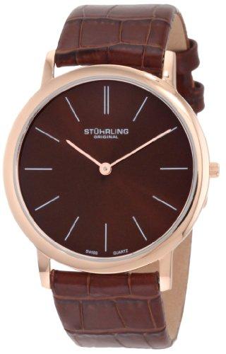 ストゥーリング オリジナル Stuhrling Original 男性用 腕時計 メンズ ウォッチ ブラウン 601.3345K55 送料無料 【並行輸入品】