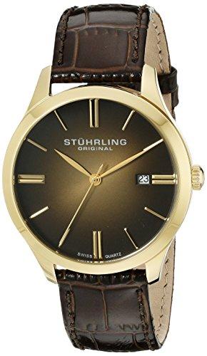 ストゥーリング オリジナル Stuhrling Original 男性用 腕時計 メンズ ウォッチ ゴールド 490.3335K31 送料無料 【並行輸入品】
