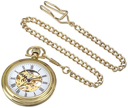 ストゥーリング オリジナル Stuhrling Original 腕時計 ウォッチ 贈り物 時計 男性用 ホワイト 送料無料 情熱セール 6053.33333 ポケット 並行輸入品 メンズ 懐中時計
