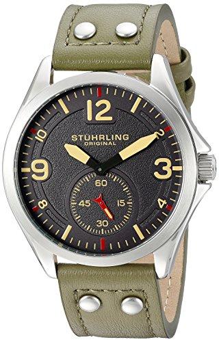 ストゥーリング オリジナル Stuhrling Original 男性用 腕時計 メンズ ウォッチ グレー 684.03 送料無料 【並行輸入品】