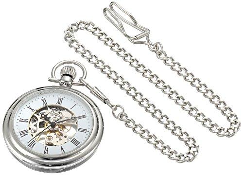 ストゥーリング オリジナル Stuhrling 高品質 Original 腕時計 ウォッチ 時計 男性用 懐中時計 超定番 ポケット メンズ 6053.33113 並行輸入品 送料無料 ホワイト