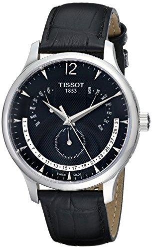 ティソ Tissot 男性用 腕時計 メンズ ウォッチ ブラック T063.637.16.057.00 送料無料 【並行輸入品】