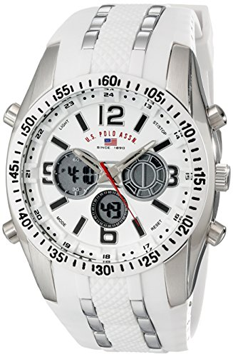 ユーエス ポロ アッスン スポーツ U.S. Polo Assn. Sport 男性用 腕時計 メンズ ウォッチ ホワイト US9282 送料無料 【並行輸入品】