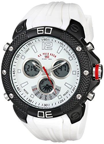 ユーエス ポロ アッスン スポーツ U.S. Polo Assn. Sport 男性用 腕時計 メンズ ウォッチ ホワイト US9495 送料無料 【並行輸入品】