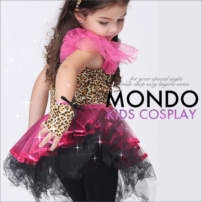 Mondo Shop Costume Event Party Dress Black Black Halloween Kids