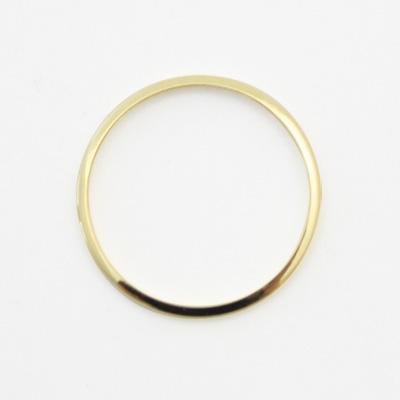 真鍮 リング メードイントーキョー 重ねつけ LanternaExtra Skinny Ring Plainゴールド 贈呈 ※アウトレット品 つやあり